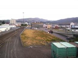 Dunedin over the rails