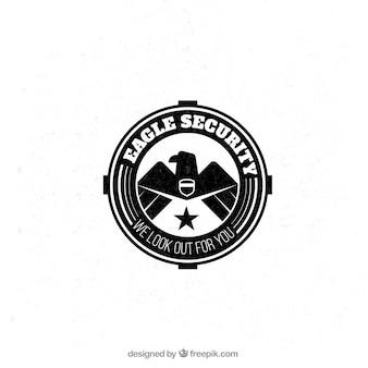 Eagle security badge