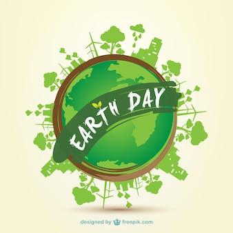 Earth Day 2014 clip art - Vector