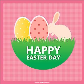 Easter card free printable