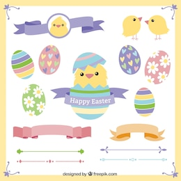 Easter decorative elements