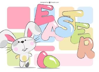 Easter rabbit image