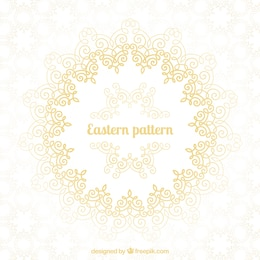 Eastern pattern design