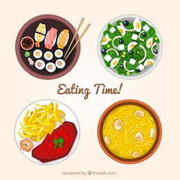Eating time!