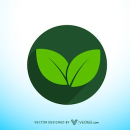 Eco Friendly Icon Badge