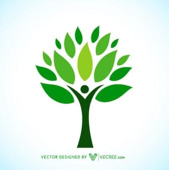 Ecologic Tree Logotype