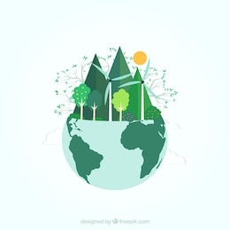 Ecological earth