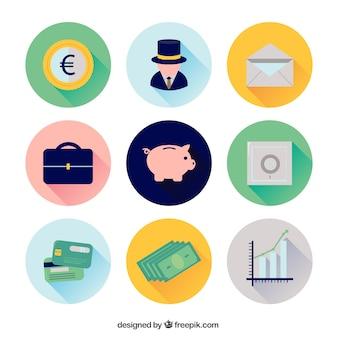 Economy icons