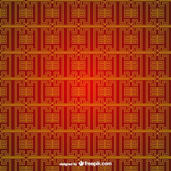 Editable chinese pattern