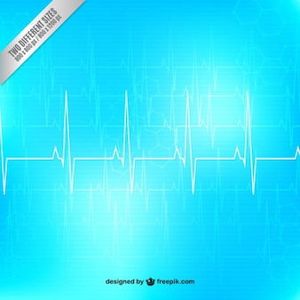 Electrocardigram background