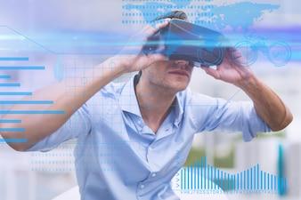 Electronic global digital futuristic device
