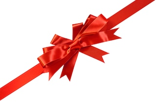 Elegant bow for a gift