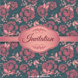Elegant invitation cover