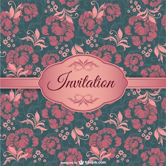 Elegant invitation cover
