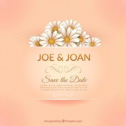 Elegant marriage invitation card