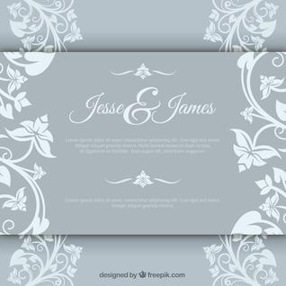 Elegant marriage invitation
