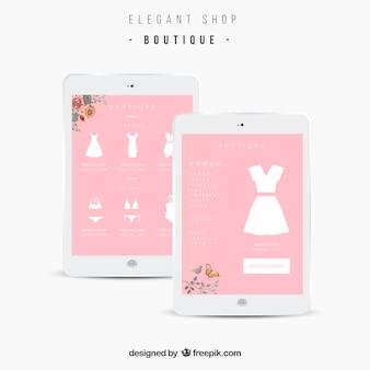 Elegant shop app