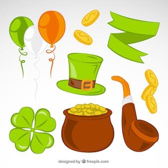 Elements of Saint Patricks day