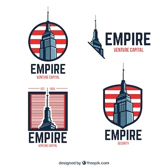 Empire state building badges