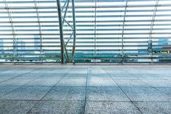 Empty Corridor Of modern airport