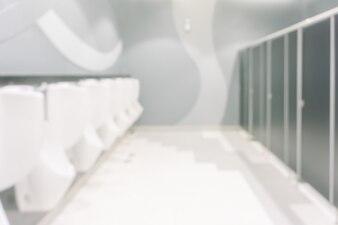Empty defocused ceramic floor blurry
