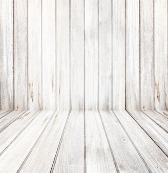 Empty of room - wood texture background