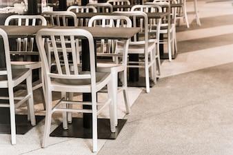Empty wood chair