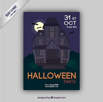 Enchanted house flyer