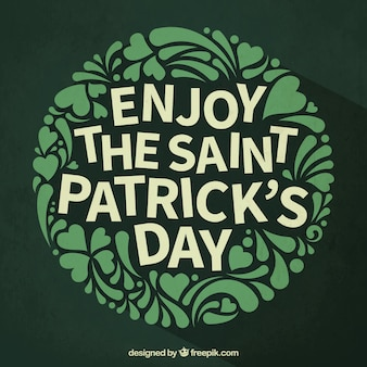 Enjoy the Saint patricks day
