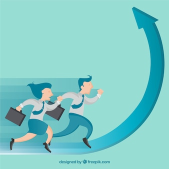 Entrepreneurs running on a graph