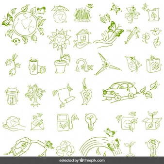 Environment green set