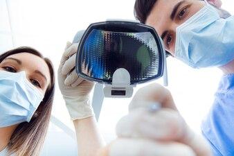Equipment happy medical medicine job