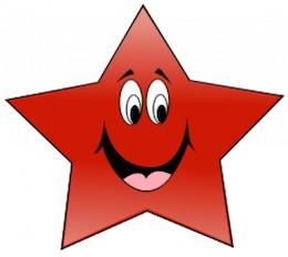 Estrela do PT Sorindo