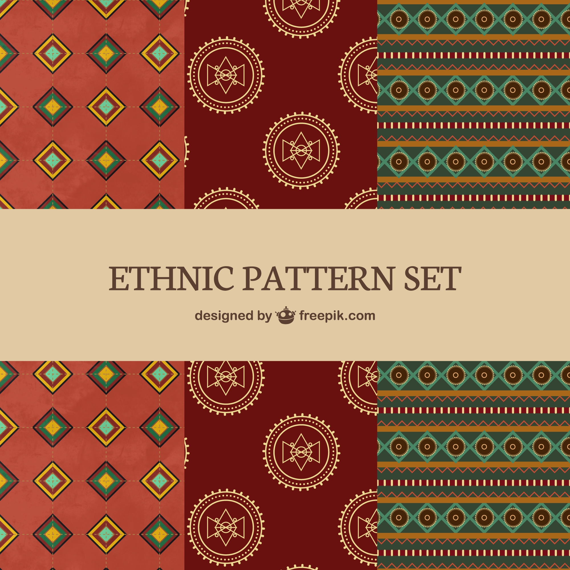 Ethnic patterns set