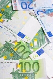 euro bills  banknotes