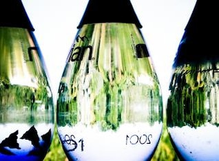 evian water bottles