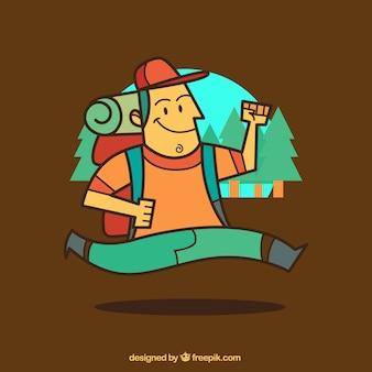 Explorer illustration