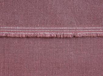 Fabric texture with seam