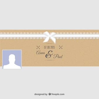 Facebook wedding cover