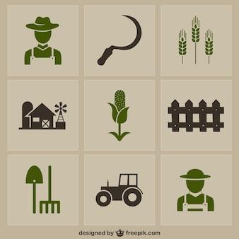 Farm icons pack