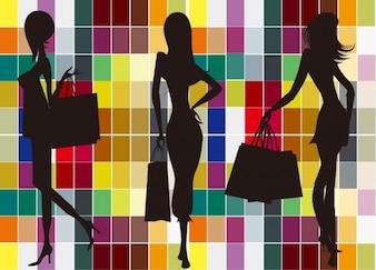 Fashion and shopping vectors