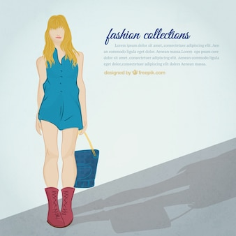 Fashion collections template