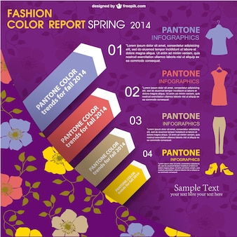 Fashion infographic vector