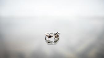 Fashion jewelry closeup bracelet pendant elegance