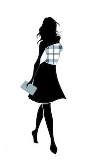 Fashion young girl shape