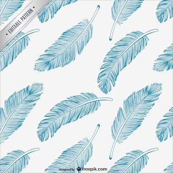 Feathers editable pattern