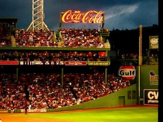 Fenway Baseball Game, boston