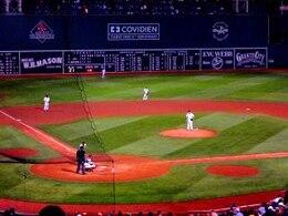 Fenway Baseball Game, famous, old