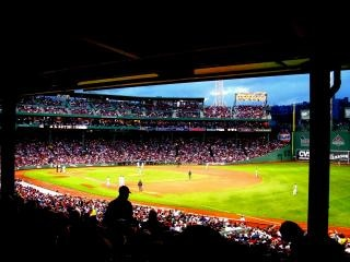Fenway Baseball Game, famous
