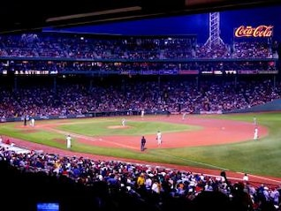 Fenway Baseball Game, sports